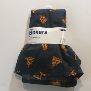 Old Navy Charcoal Pizza Boxers